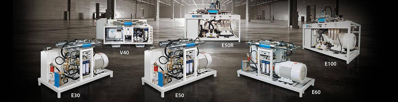 WSI Waterjet Cutting Pumps - Waterjet Systems International